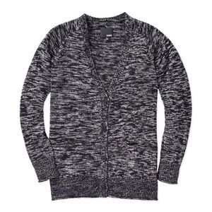WILFRED FREE | Marled Button Front Cardigan XXS